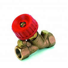 """Клапан балансировочный с заглушкой, и дренажом 1752 DN20 (3/4"""") Kv=0.13-5.90, COMAP"""