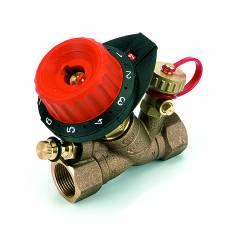 """Клапан балансировочный с измерительным ниппелем и дренажом 750 DN15 (1/2"""") Kv=0.1-4.47, COMAP"""