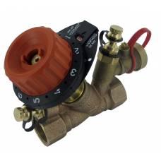 """Балансировочный клапан 750PV c 2 измерительными ниппелями и дренажом DN40 (1 1/2"""") О.23-21.09, COMAP"""