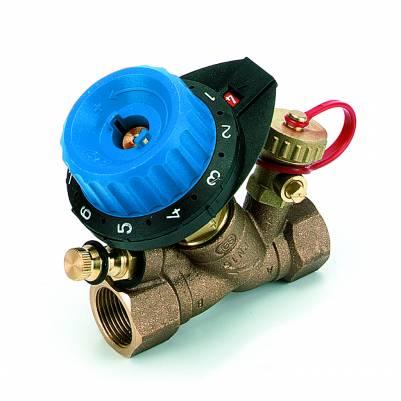 """Клапан балансировочный с измерительным ниппелем и дренажом 750R DN15 (1/2"""") Kv=0.115-1.90, COMAP"""