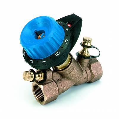 """Клапан балансировочный с двумя измерительными ниппелями 751R DN15 (1/2"""") Kv=0.115-1.90, COMAP"""