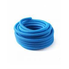Защитная гофрированная труба из ПНД 40/26, синяя