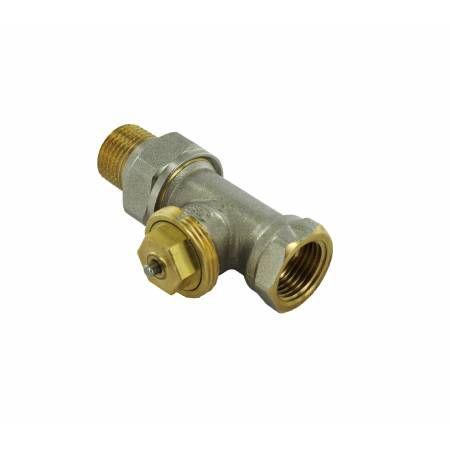 """Термостатический клапан прямой тип R809 с фиксированным Kv, 1/2"""", М28, COMAP"""