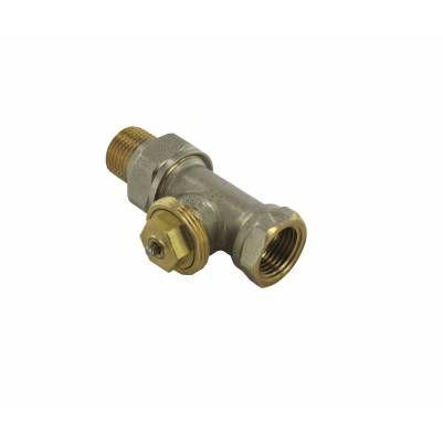 """Термостатический клапан прямой тип R855 с регулируемым Kv, 3/4"""", М30, COMAP"""