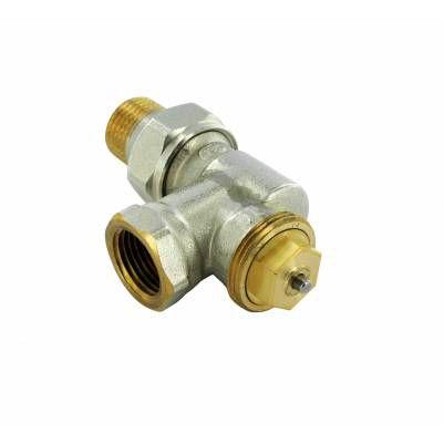 """Термостатический клапан осевой тип R857 с регулируемым Kv 1/2"""", М28, COMAP"""