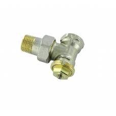 """Термостатический клапан угловой тип R858 с регулируемым Kv, 1/2"""", М28, COMAP"""