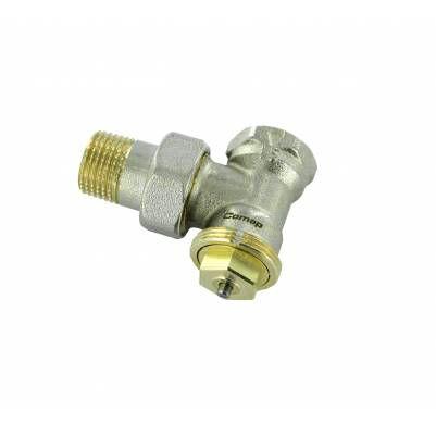 """Термостатический клапан угловой тип R858 с регулируемым Kv, 3/4"""", М28, COMAP"""