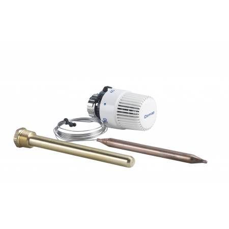 Головка термостатическая c накладным датчиком 2м 6803STD M30x1,5, COMAP