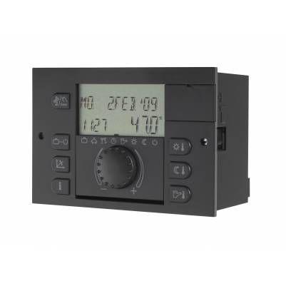 Погодозависимый контроллер Theta N23BVVC-OT ZG (прямой и сметельный контур, бойлером, горелка)