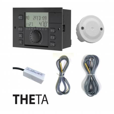 Погодозависимый контроллер Theta N2233BVVC-OT SET (прямой и 2 смесительных контура, бойлер. горелка)