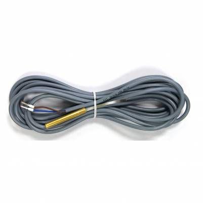 Датчик температуры KVT 20/5/6 погружной для котла/бойлера. Длина кабеля 5 м.