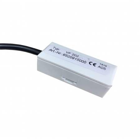 Датчик температуры VF 204 накладной. Длина кабеля 4м. В комплекте хомут и термопаста.