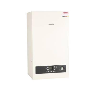 Настенный двухконтурный газовый конденсационный котел INOX 24/30 Kombi, HANSA