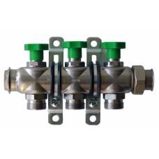 Коллектор для водоснабжения на 3 выхода S23 VA HANSA