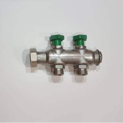 Коллектор для водоснабжения на 2 выхода S23 VA, HANSA