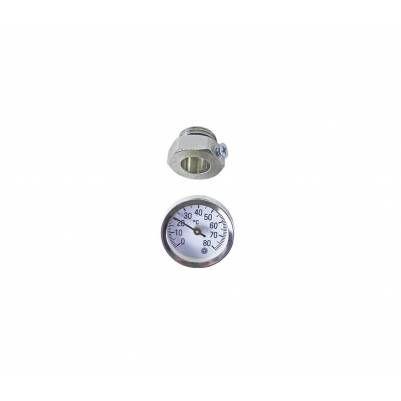"Термометр ø34x10 мм 0-80 °С для гильзы 1/2"", HANSA"