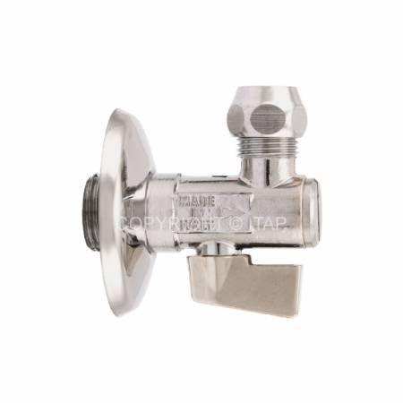 Кран шаровой латунный кран НР, перекрывающий, для смесителя, Ду 15 Ру 8, тип 906, ITAP