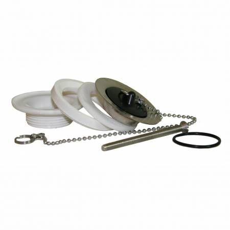 Комплект подключения для раковины с пробкой, Smartline
