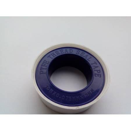 Фум-лента PTFETAPE (10 м х 12 мм х 0,075 мм), Unipak