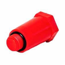 """Монтажная заглушка с уплотнением 1/2"""" красная, SLT AQUA"""