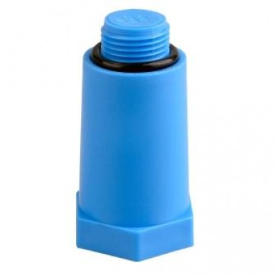 """Монтажная заглушка с уплотнением 1/2"""" синяя, SLT AQUA"""